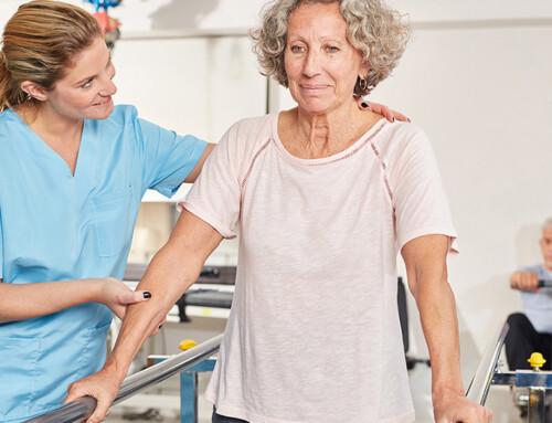 Physiotherapie bei COVID-19-Patienten